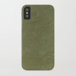 Italian Style Tuscan Olive Green Stucco - Luxury - Comforter - Bedding - Throw Pillows - Rugs iPhone Case
