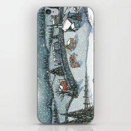Christmas is Here iPhone Skin
