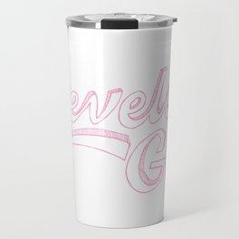 Cleveland Girl Travel Mug