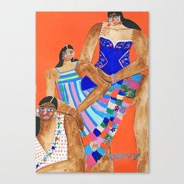 fashion week Mexico #4 Canvas Print