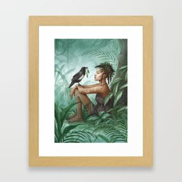 Kadiatou ~ A Compendium Of Witches Framed Art Print