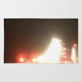 Abstracte Light Art in the Dark 13 Rug