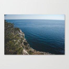 A quiet place. Canvas Print