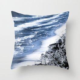 Cape Lookout Netarts Throw Pillow
