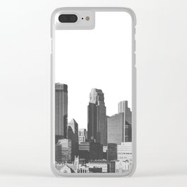 Minneapolis Minnesota Clear iPhone Case
