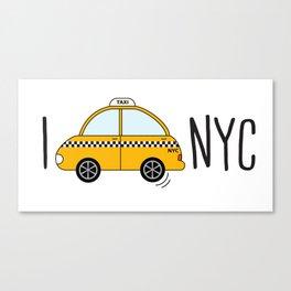 I love NYC Canvas Print