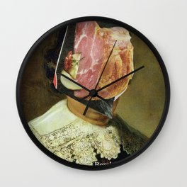 Meat Rembrandt Wall Clock