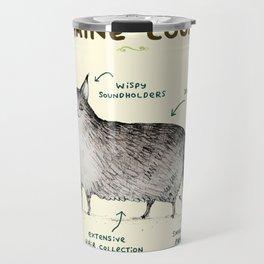 Anatomy of a Maine Coon Travel Mug