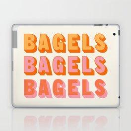 BAGELS BAGELS BAGELS Laptop & iPad Skin