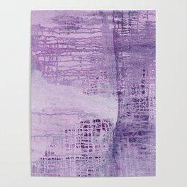 Dreamscape in Purple Poster