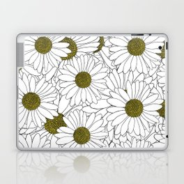 Daisy Yellow Laptop & iPad Skin