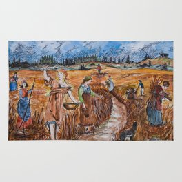 The First Harvest Rug