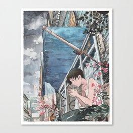 Bicycle Boy 07 Canvas Print