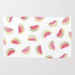 Watermelon slices Rug
