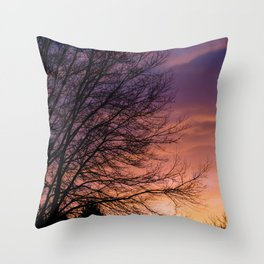 Sunsets and Silhouettes #1 Throw Pillow