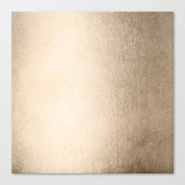 White Gold Sands Canvas Print