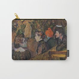 "Henri de Toulouse-Lautrec ""Ball at the Moulin de la Galette"" Carry-All Pouch"