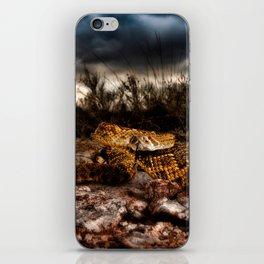 Rattlesnake-I iPhone Skin