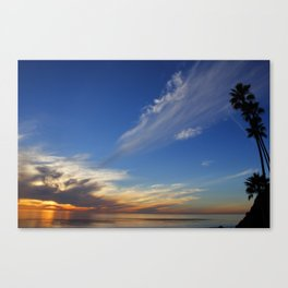 Whisper Clouds Canvas Print
