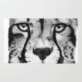 Cheetah face Rug