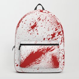 Bloody Blood Spatter Halloween Backpack