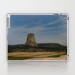 Road To Devils Tower Laptop & iPad Skin