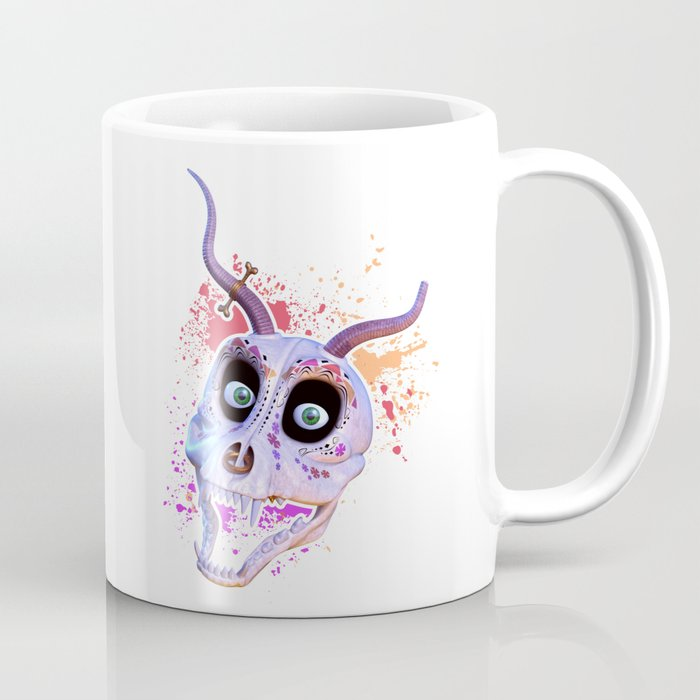 Ankou - colorful head Coffee Mug