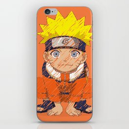 Naruto-chan iPhone Skin