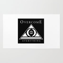 Over Come Everything Rug