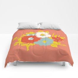 Coral Flora Comforters