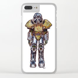 T-51 Power Armour Clear iPhone Case