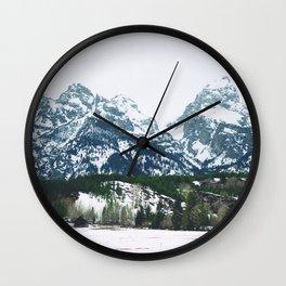 monutains Wall Clock