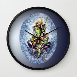 Ganesha Wall Clock