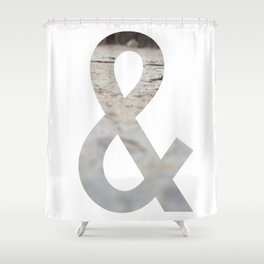 Ampersand Project - Blur Shower Curtain