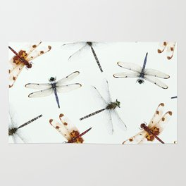 Dragonfly Pattern Rug