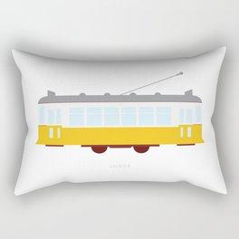 Lisbon Tram Rectangular Pillow
