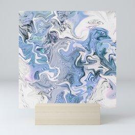 SHIMMERING WATER II Mini Art Print