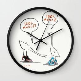 100% Mallard Wall Clock
