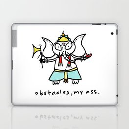 obstacles, my ass (ganesha) Laptop & iPad Skin