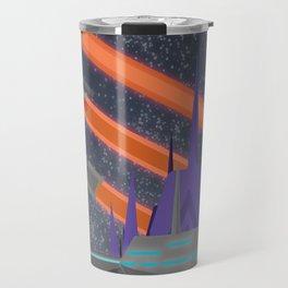 Cybertron Travel Poster Travel Mug