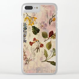 Botanical Study #1 Clear iPhone Case