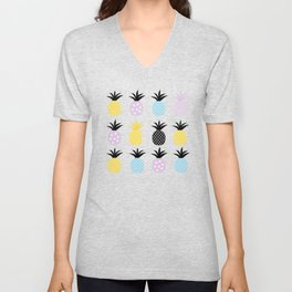 Pineapple Love Unisex V-Neck