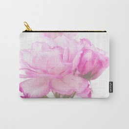 Light Pink Blend Rose #1 #floral #decor #art #society6 Carry-All Pouch