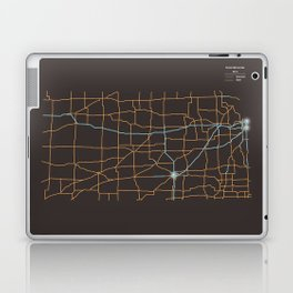 Kansas Highways Laptop & iPad Skin