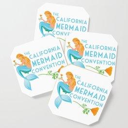Simple Logo ·•· California Mermaid Convention Coaster