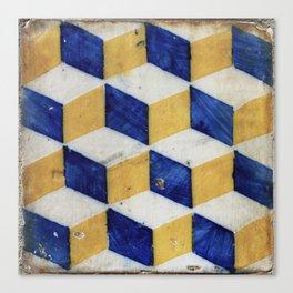 Portuguese tiles pattern Canvas Print