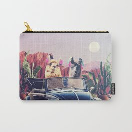 Llamas on the road Carry-All Pouch