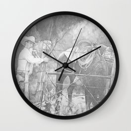 Fixing the Fence Wall Clock