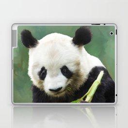 Painting Panda Bear Long Hui Laptop & iPad Skin