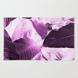 Enrapture - deep purple (texture background) Rug